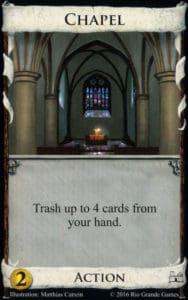 Chapel Card