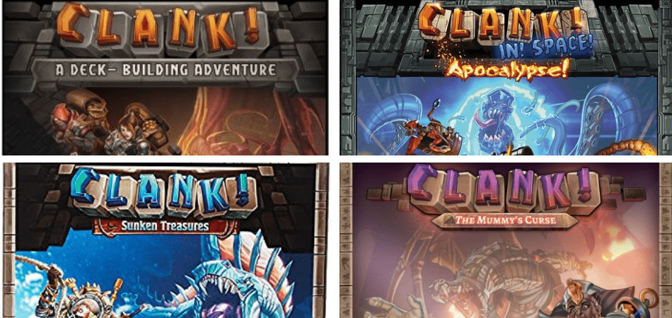 Clank! Deck-Building Game