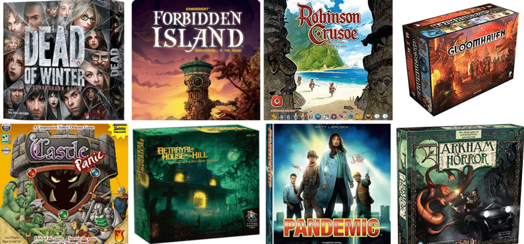 Cooperative Board Game Examples