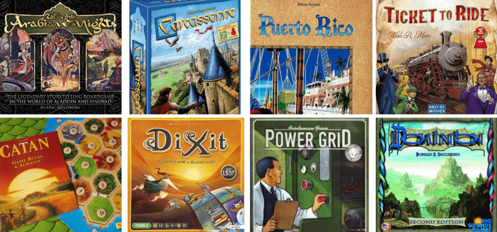 Cooperative Board Games Examples