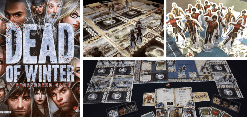 Dead of Winter Cooperative Board Game