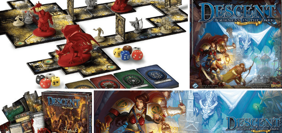 Descent: Journeys in the Dark Cooperative Board Game