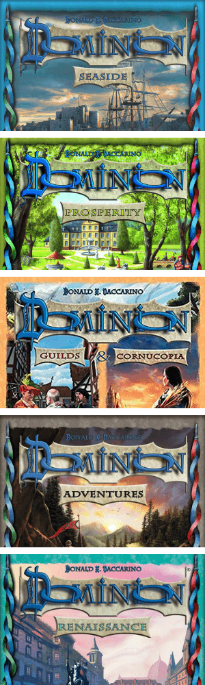 Dominion Expansions