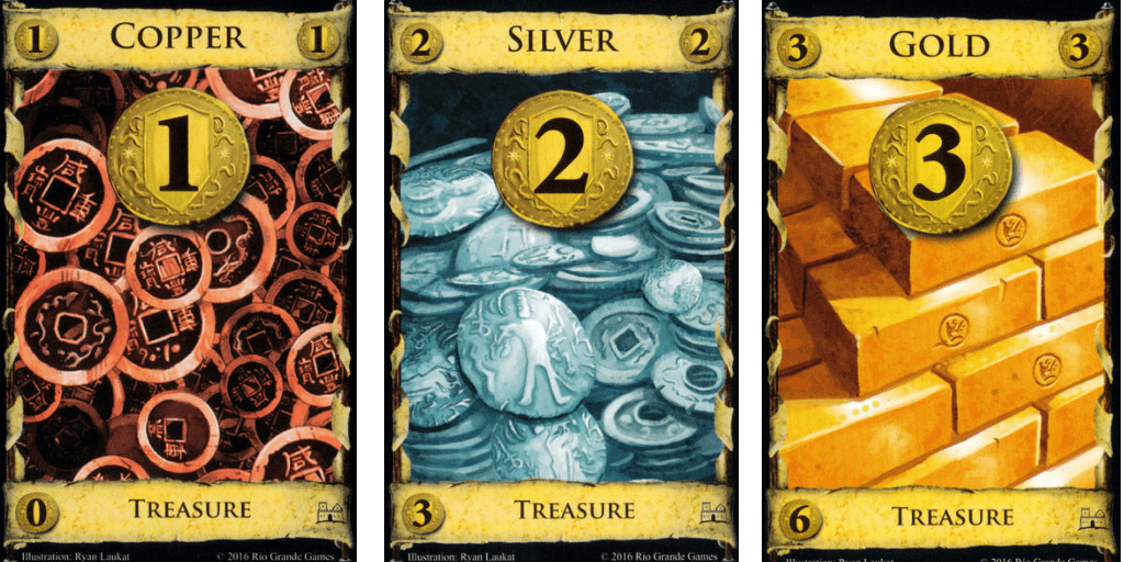 Dominion Treasure Cards