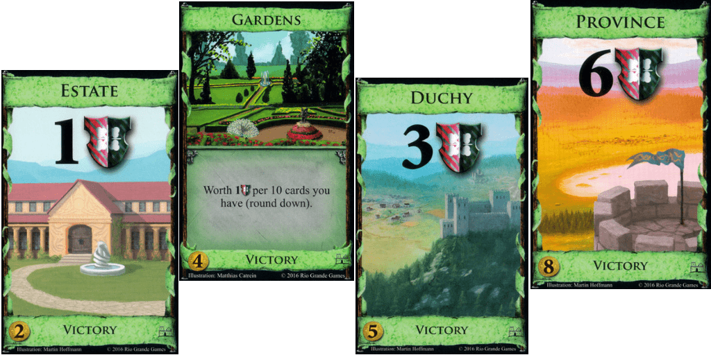 Dominion Victory Cards