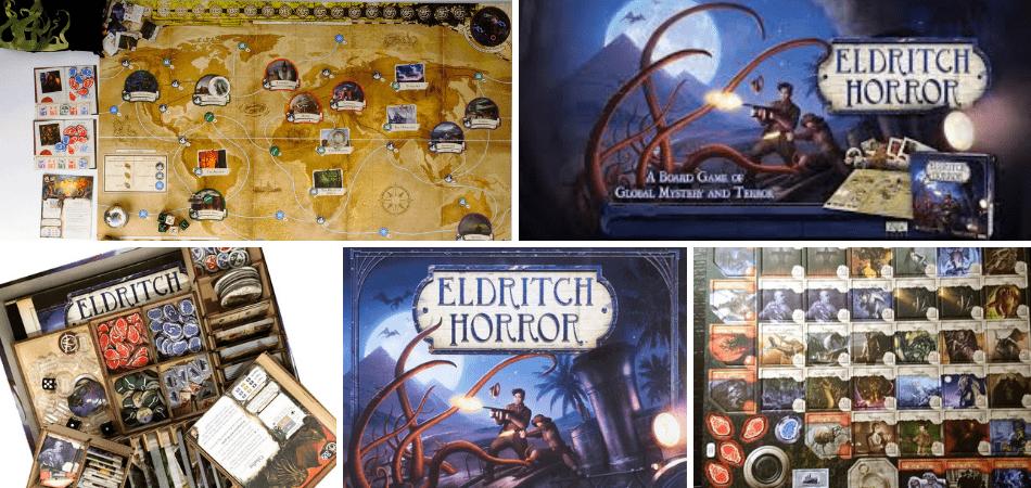 Eldritch Horror Cooperative Board Game