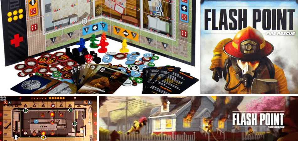 Flash Point Cooperative Board Game