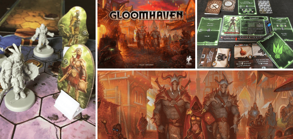 Gloomhaven Cooperative Board Game