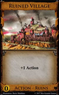 Ruined Village Card