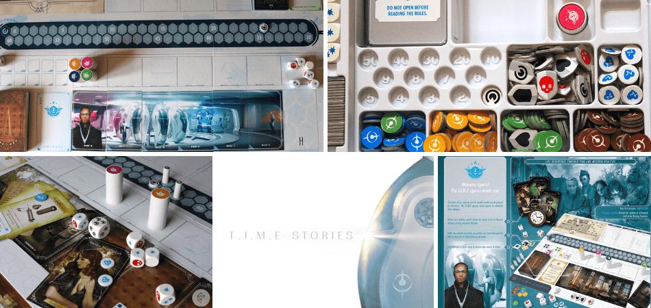 T.I.M.E. Stories Cooperative Board Game