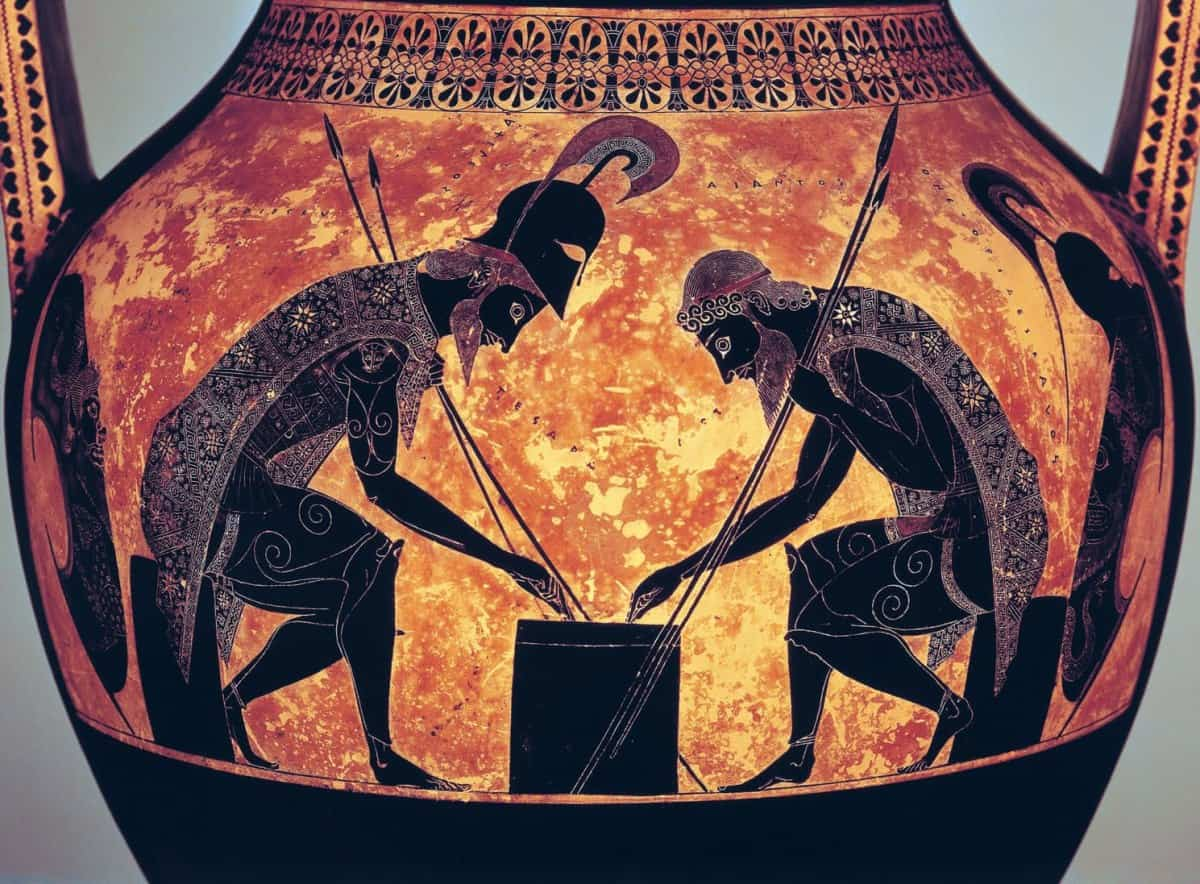 Achilles and Ajax Playing Ludus