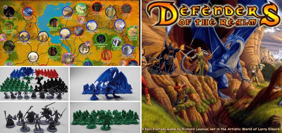 Defenders of the Realm Board Game