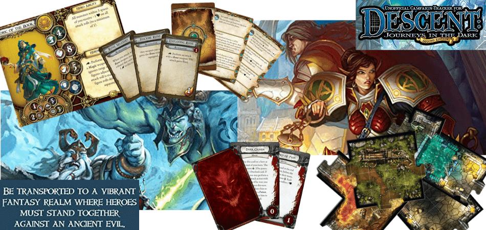 Descent: Journeys in the Dark Board Game