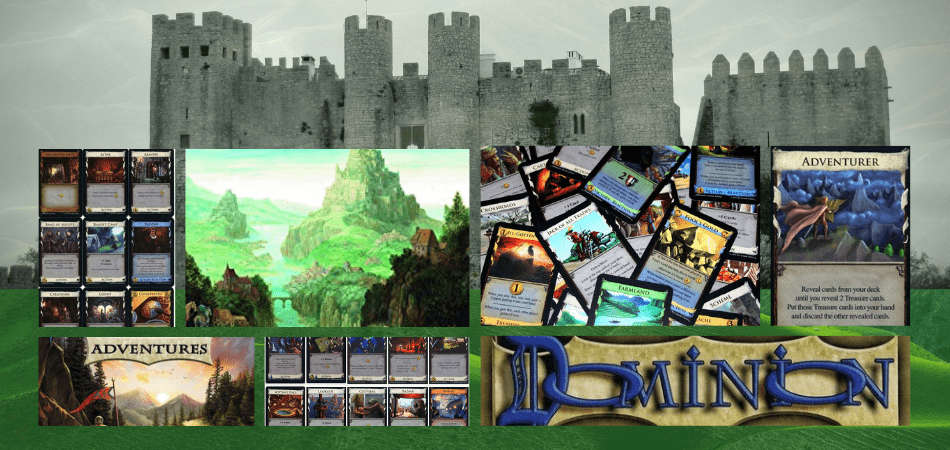Dominion Deck-Building Game with Castle