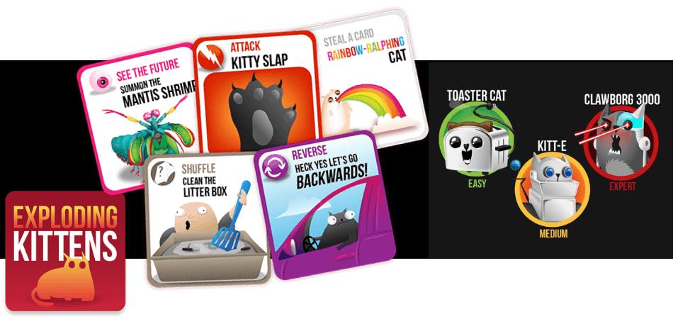 Exploding Kittens App