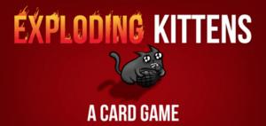 Exploding Kittens Header