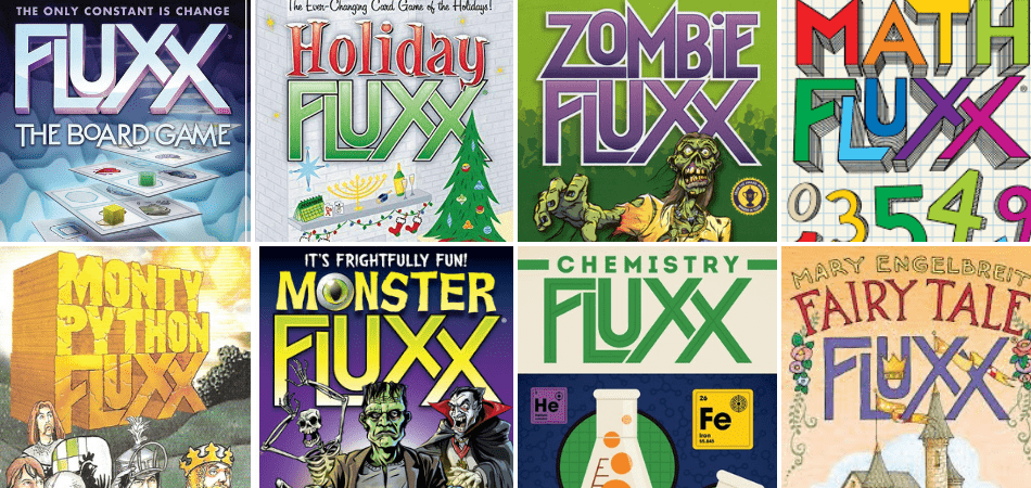 Fluxx Card Game Versions