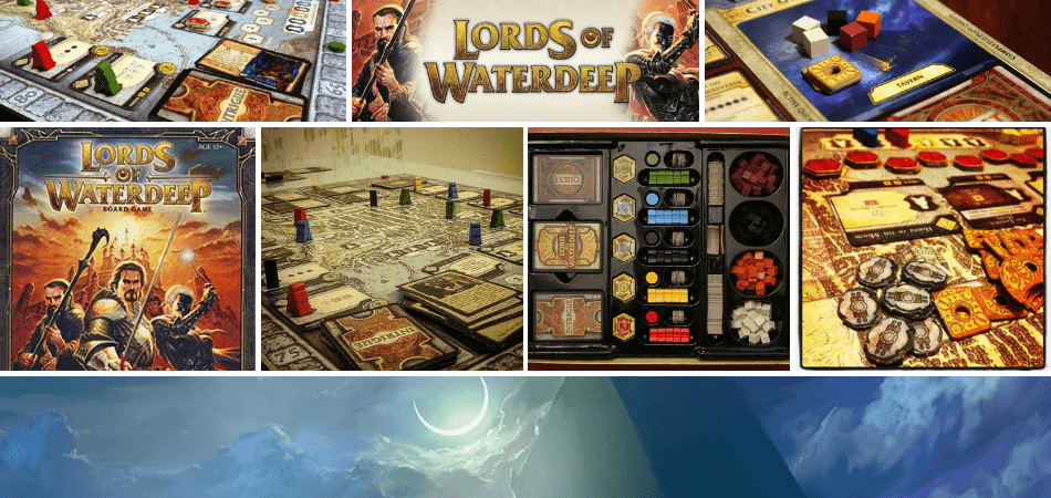 Lords of Waterdeep Fantasy Board Game