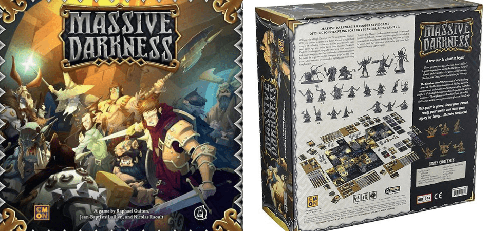 Massive Darkness Box and Back