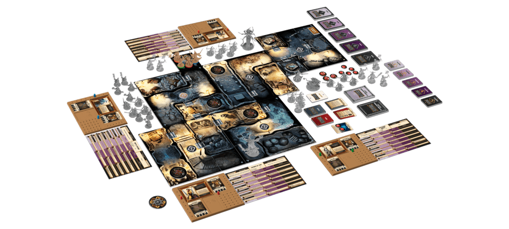 Massive Darkness Full Game Board