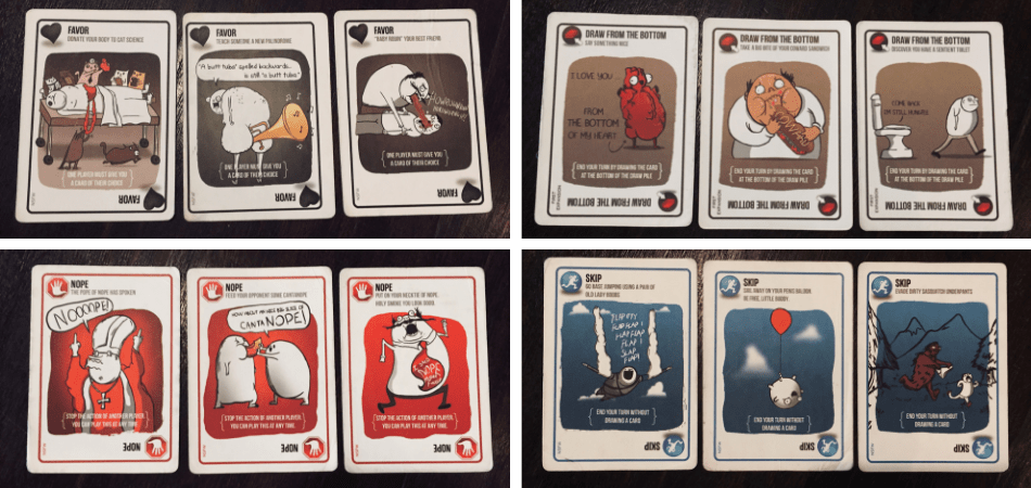NSFW Exploding Kittens Cards 2