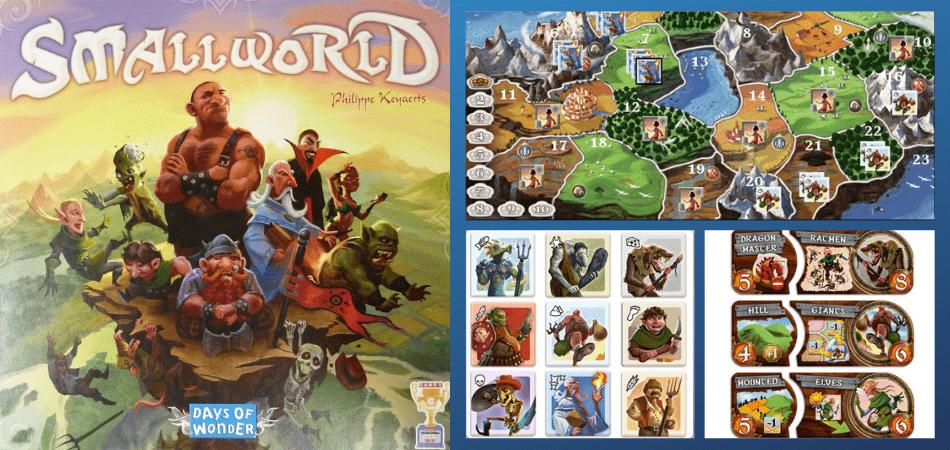 Small World Fantasy Board Game