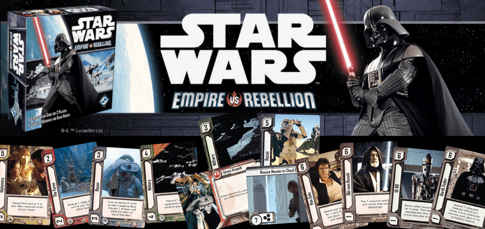 Star Wars Empire vs. Rebellion Board Game
