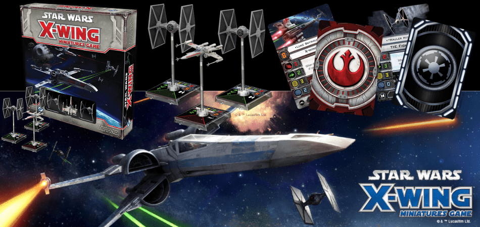 Star Wars X-Wing Board Game