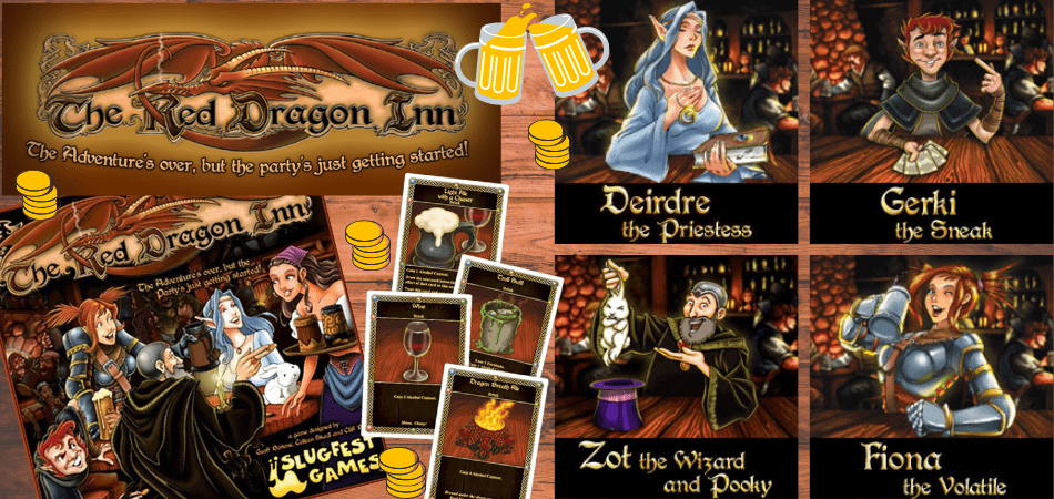 The Red Dragon Inn Fantasy Game
