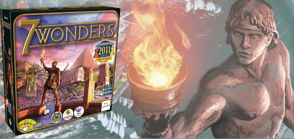 7 Wonders 6-Player Board Game