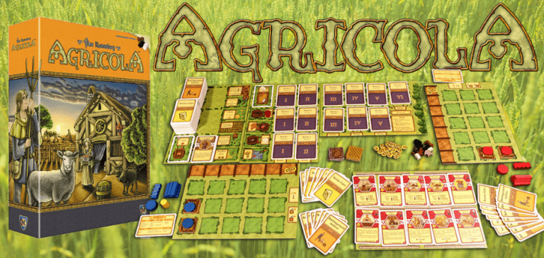 Agricola 3-Player Board Game