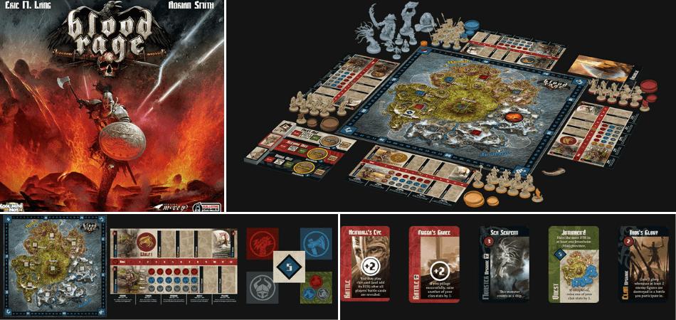 Blood Rage 3-Player-Board-Game