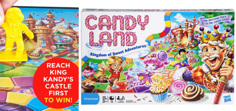 Candyland Family Board Game