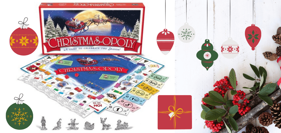 Christmas-opoly Family Board Game