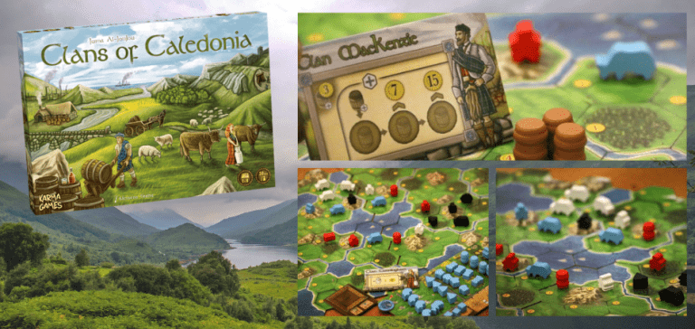 Clans of Caledonia 3-Player Board Game