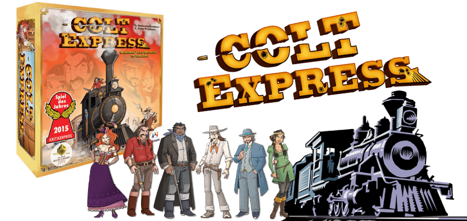 Colt Express 6-Player Board Game