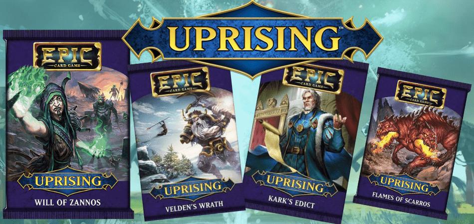 Epic Card Game Uprising Expansion