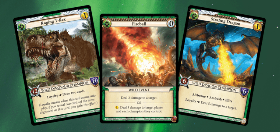 Epic Card Game Wild Examples