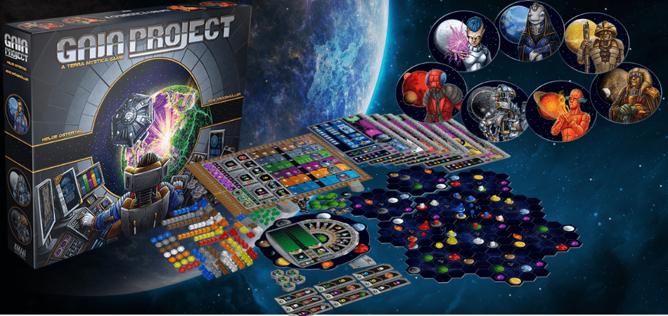 Gaia Project 3-Player Board Game