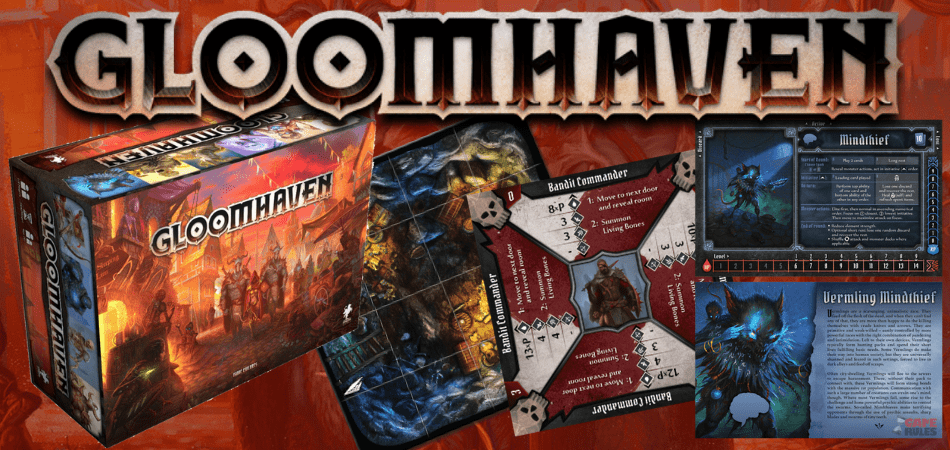 Gloomhaven RPG Board Game