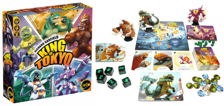 King of Tokyo Family Board Game