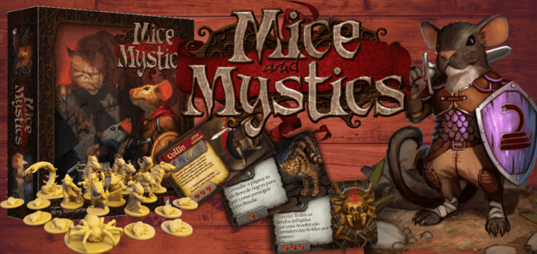 Mice and Mystics RPG Board Game