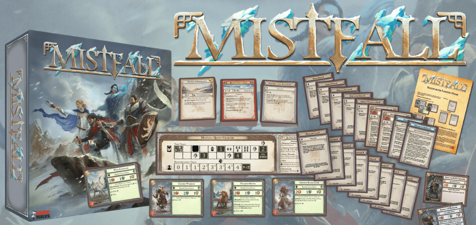 Mistfall RPG Board Game