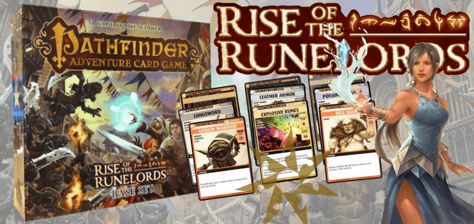 Pathfinder Adventure Card Game Rise of the Runelords RPG Board Game