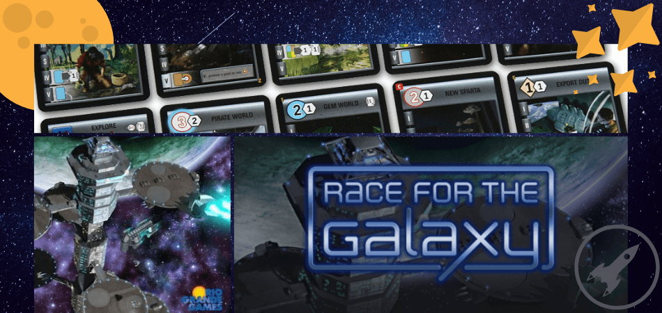Race for the Galaxy 3-Player Board Game