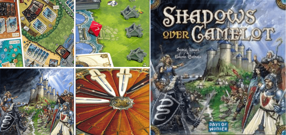 Shadows Over Camelot 6-Player Board Game
