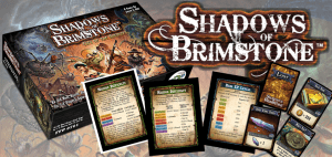 Shadows of Brimstone RPG Board Game