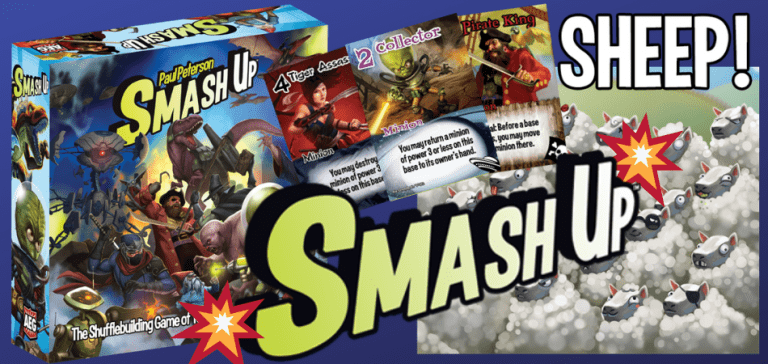 Smash Up 3-Player Board Game
