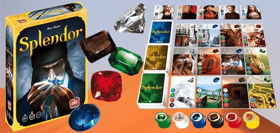 Splendor 3-Player Board Game