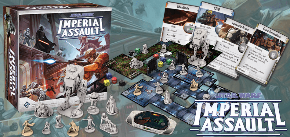 Star Wars Imperial Assault RPG Board Game
